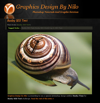 Busby SEO Test challenge for Graphics Design BY Nilo