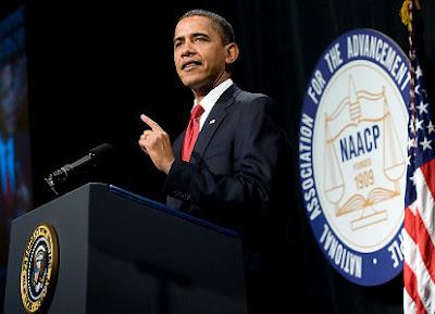 Obama NAACP Speech