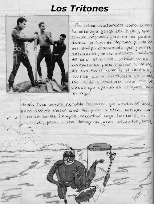 Historia de las actividades subacuaticas, Club de pesca submarina y actividades subacuaticas (1969)