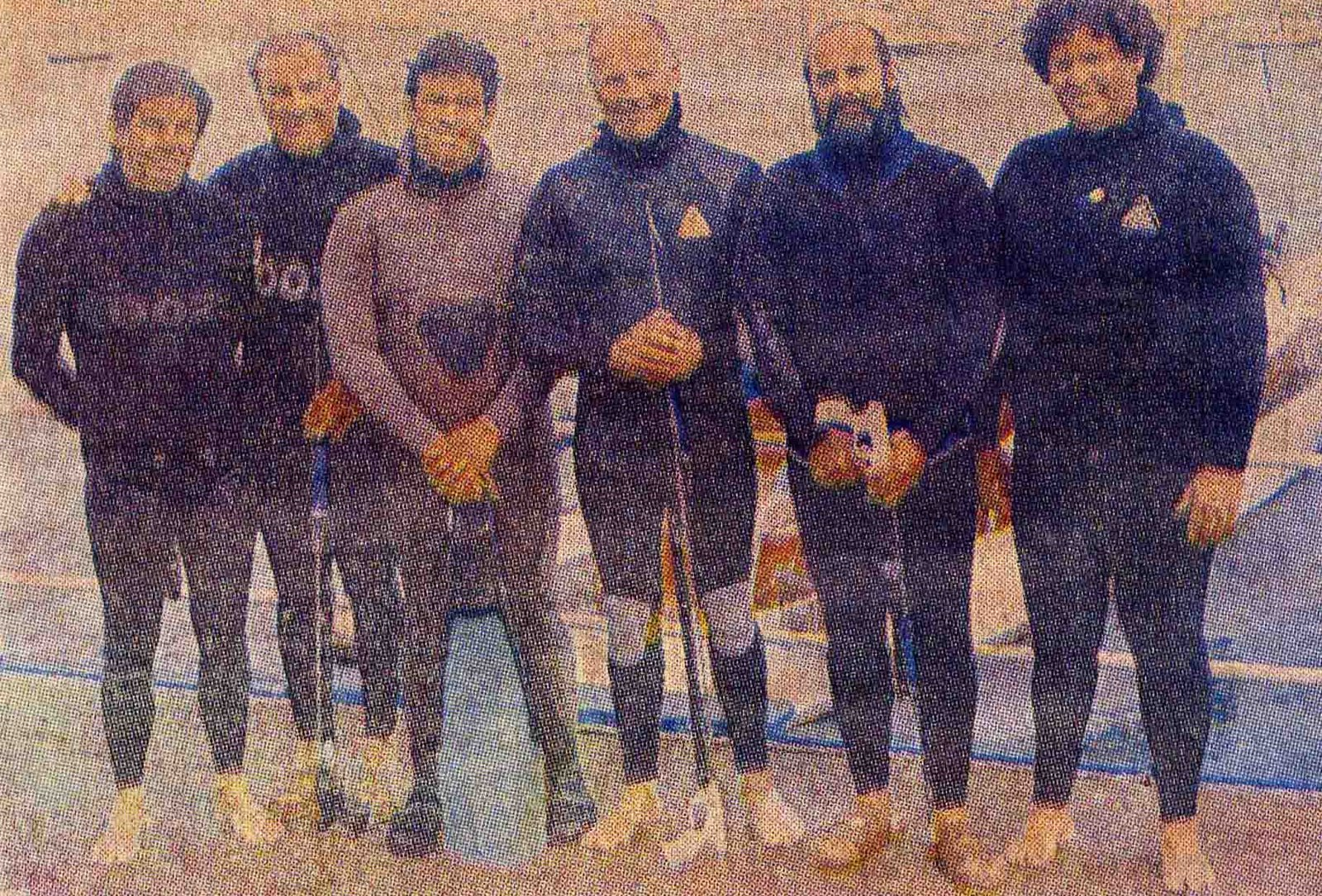 Grandes pescadores submarinos Peruanos