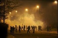 Dans les nuits du 25 au 27 novembre, de violents affrontements avaient opposé forces de l'ordre et jeunes à Villiers-le-Bel après la mort de deux adolescents dans une collision entre leur moto et une voiture de police. Document AFP.