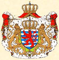 Les armoiries du Grand-Duché de Luxembourg.