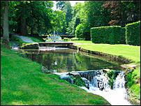 Les jardins d'Annevoie. Document T.Lombry.
