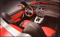 L'habitacle de l'Opel GT.