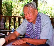 Pol Pot en 1994.