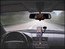 La navigation par GPS.