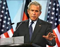 Le Président G.W.Bush.