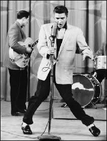 Elvis Presley vers 1956.