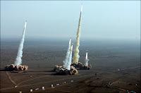 Test de missiles iraniens en novembre 2006.