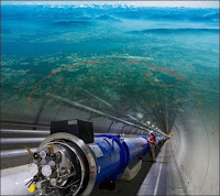 Illustration du LHC installé à Genève. Document CERN.