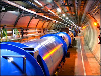 Le tunnel du LHC. Document CERN.