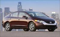 La Honda FCX Clarity à moteur électrique (pile à combustible). Document Honda.