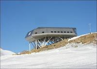 La station polaire Princess Elisabeth en Antarctique.