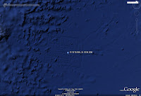 L'artefact découvert dans Google Ocean.