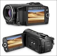 Caméscope Canon HF20 (850€).