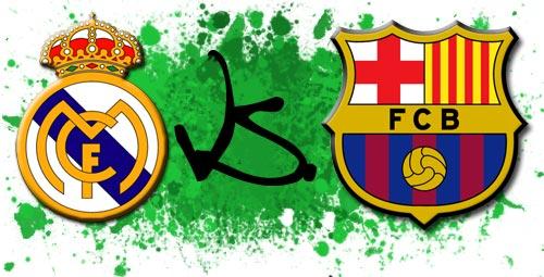 Goles en los Clasicos Real Madrid vs Barcelona 2006 -2012