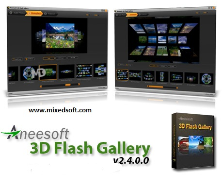 3d flash gallery
