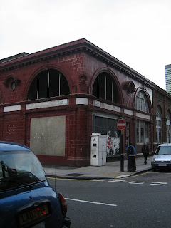 Disused Tube station, Melton Street