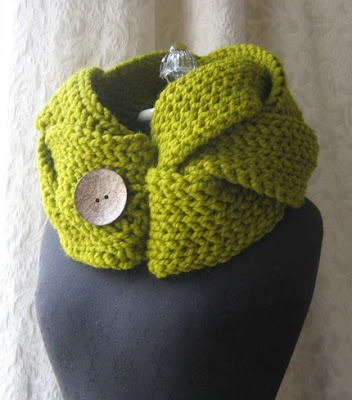 chartreuse cowl by fringe
