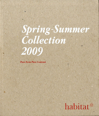 habitat spring summer 09 catalogue