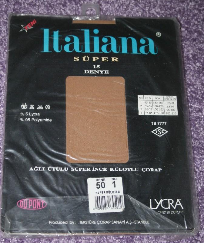 ten rengi lycra kuelotlu corap marka italiana beden 1 renk kodu 50 ...