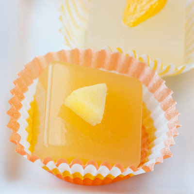 food gifts: mandarin cosmo jelly shot