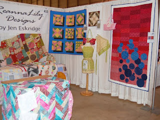 Set up Day at the Common Threads Quilt Show- Wichita Kansas
