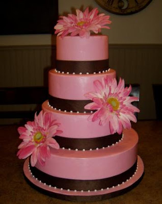 simple valentines wedding cakes