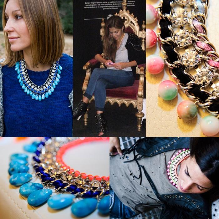 Collares modernos 2012
