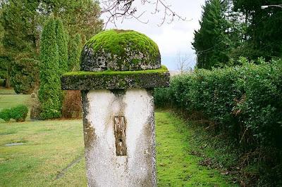 Natural Landscape Mossy Post, Free Landscape Picture - Garden Landscape Architecture