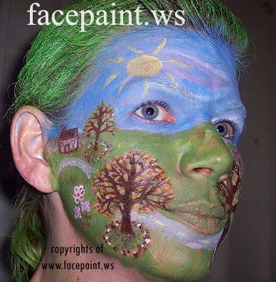 landscape-paintings-tree-facepaint