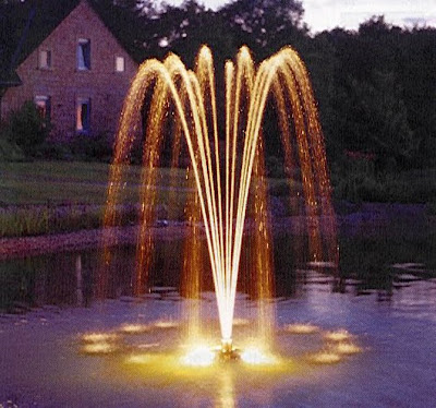 beautiful-garden-fountain-with-modern-light-garden