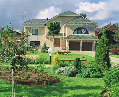 Landscape Garden, Landscape Painting - Garden Landscape Architecture