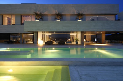 Luxury Architecture Design House - swimming pool design