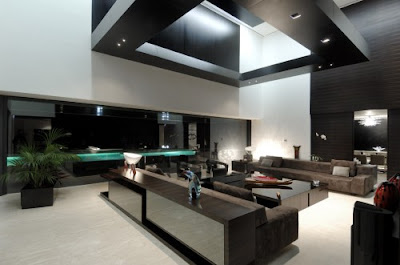 Luxury Architecture Design House - living room