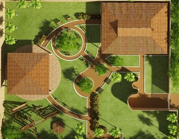 Top landscape the vast benefits of landscape design in 3d for 3d garden designs