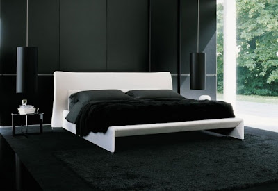 Awesome-Black-and-White-Bedroom-Design