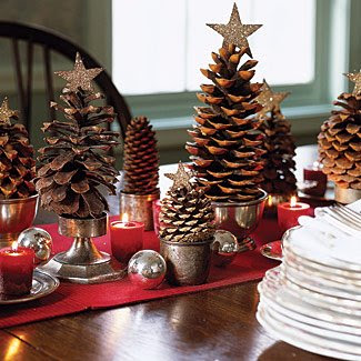 christmas-decoration-pinecone-miniature-trees