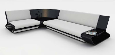Modern Modular Slim Sofa Design Furniture