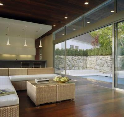 Wilton Pool House Living Room