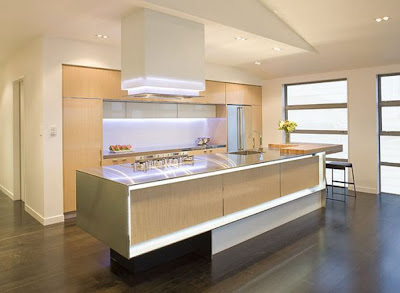Wonderful Interior Design Lighting and Modern Kitchen