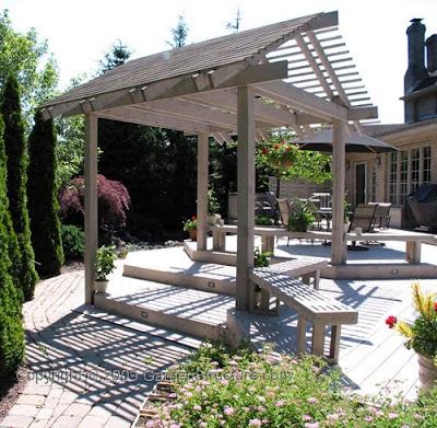 Decks Landscape Design Pergolas