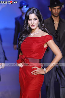 Katrina Kaif Red Dress Ramp Pictures