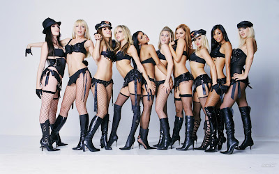 Hot American Pop Girls: Pussycat Dolls Group Photo
