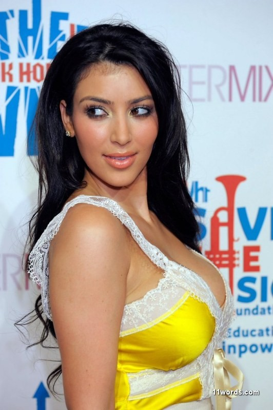 Sexy Celebrity Kim Kardashian Unseen Hot Pictures