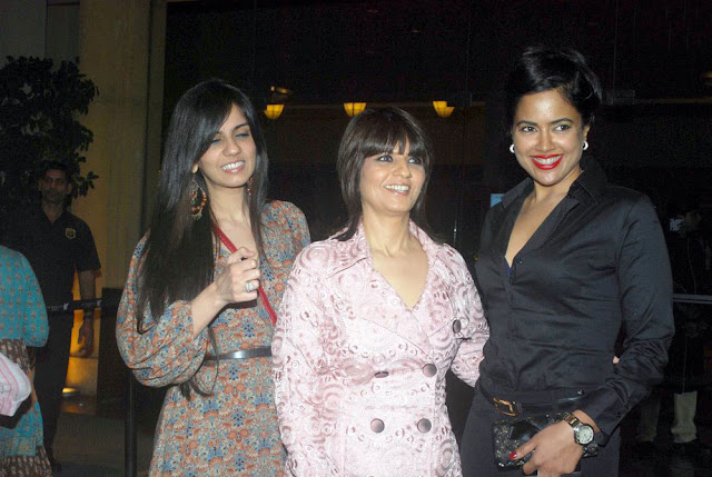 Sameera Reddy At Neeta Lullas Dinner Bash Pictures