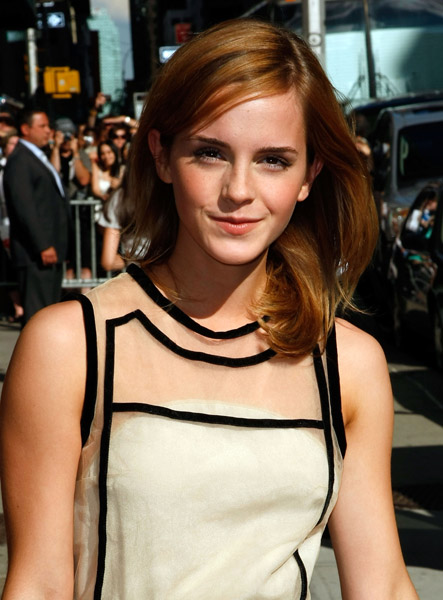 NOTHING COMPARES TO U-RE OLD HAIRCUT. Emma Watson, Sinead?