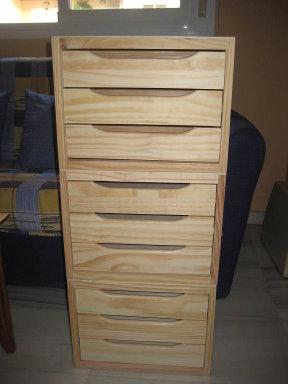 Con mis manos mueble costurero for Mueble costurero