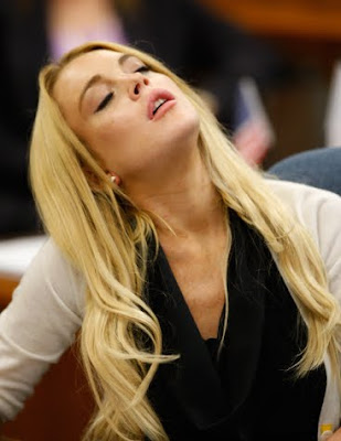 Lindsay Lohan's Reaction to Jail