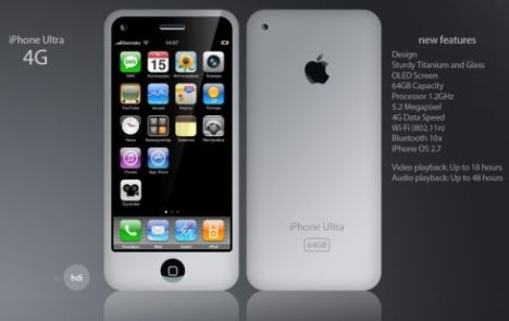 New iPhone (iPhone 4G ?